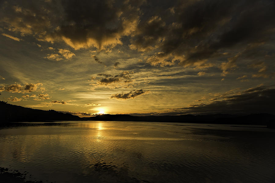 Queen Charlotte-haida Gwaii-sunset-1 Photograph
