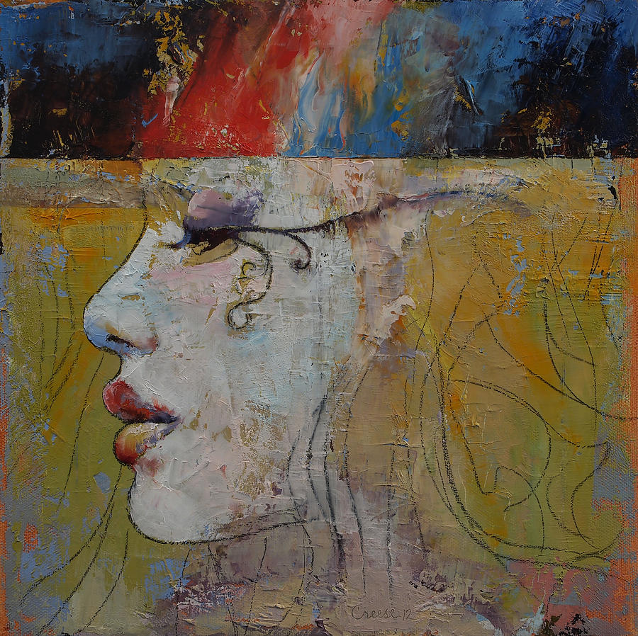 Queen Painting - Queen by Michael Creese