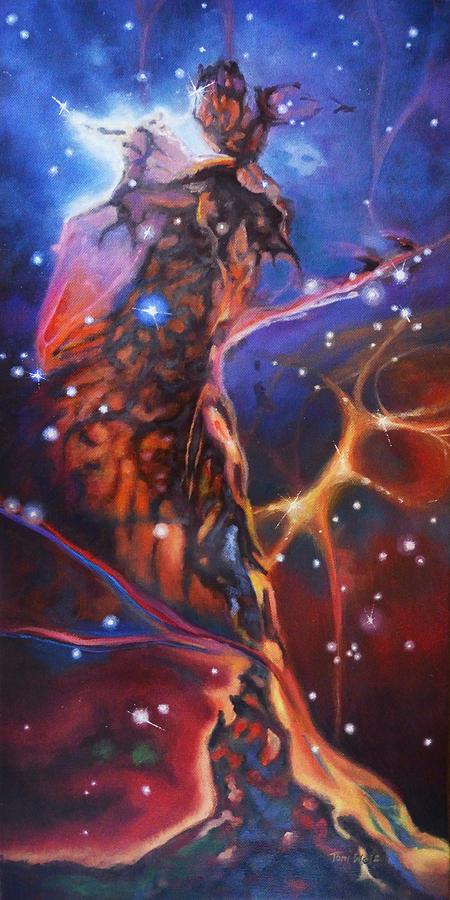 Queen Nebula 1 Painting