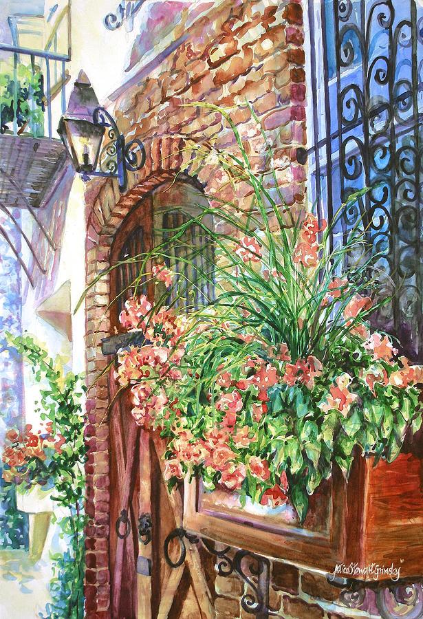 Queen Street Textures Painting