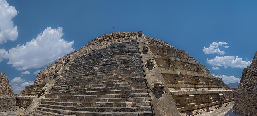 Quetzalcoatl Pyramid Photograph