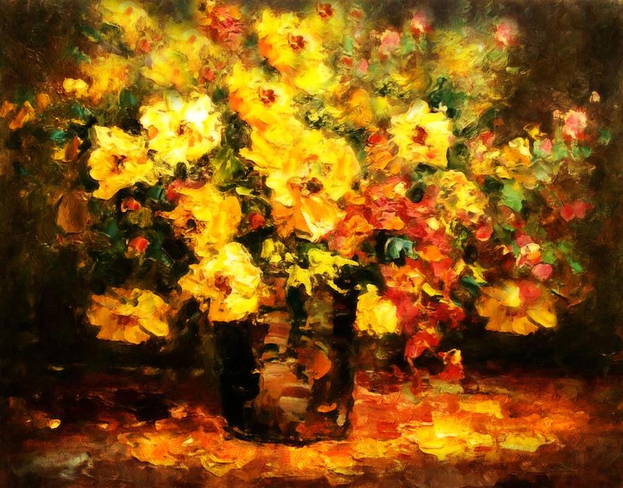 Quiet Desires - Impressionism  Painting