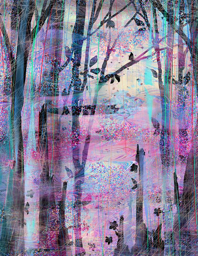 Quiet Place Digital Art  - Quiet Place Fine Art Print