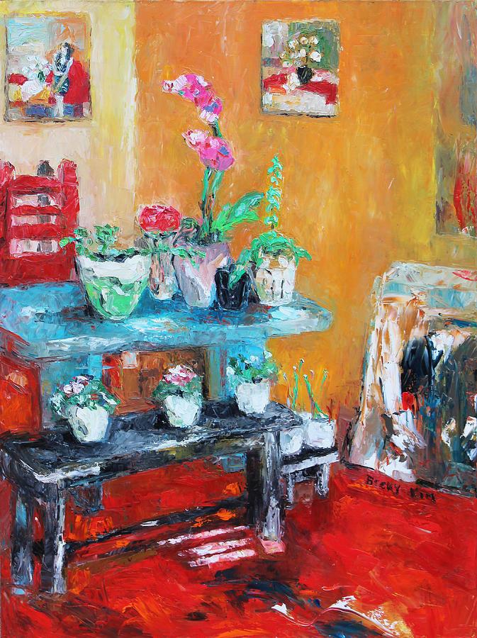 Quiet Time Corner Painting