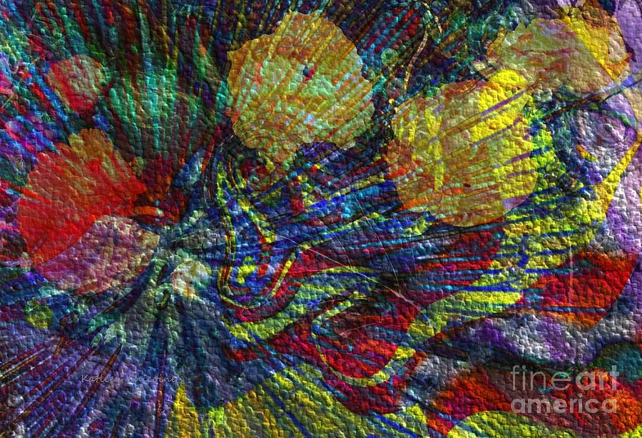 Quilted Garden Photograph