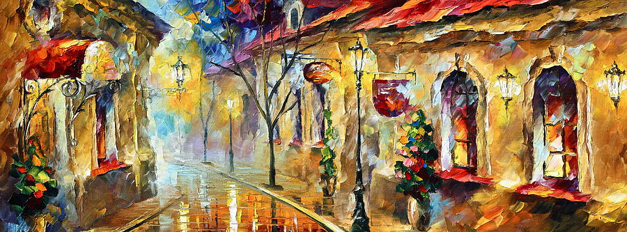 Afremov Painting - Quite Morning by Leonid Afremov