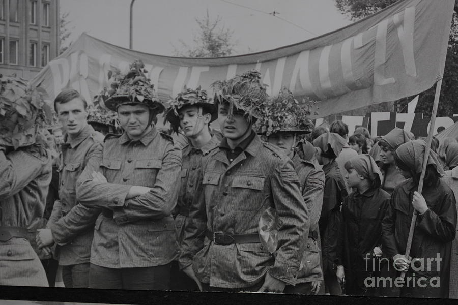 Quo Vadis Domine - Quo Vadis Homo - May Day  Celebration Viet Cong Photograph  - Quo Vadis Domine - Quo Vadis Homo - May Day  Celebration Viet Cong Fine Art Print