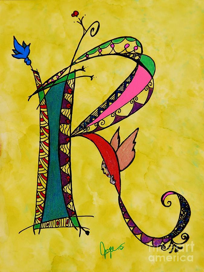 r Monogram Painting