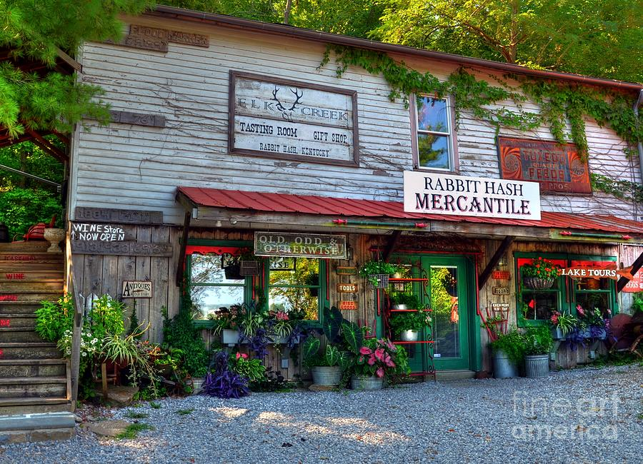 Rabbit Hash Mercantile Photograph  - Rabbit Hash Mercantile Fine Art Print