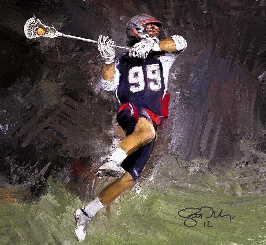 Rabil Lacrosse Painting