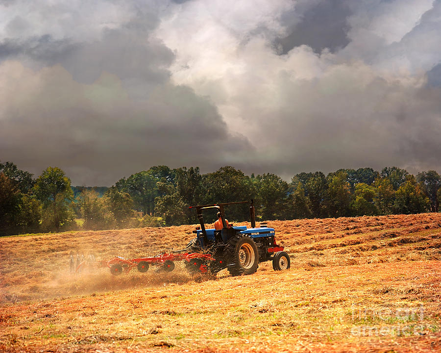 Tennessee Photograph - Race Against The Storm by Jai Johnson