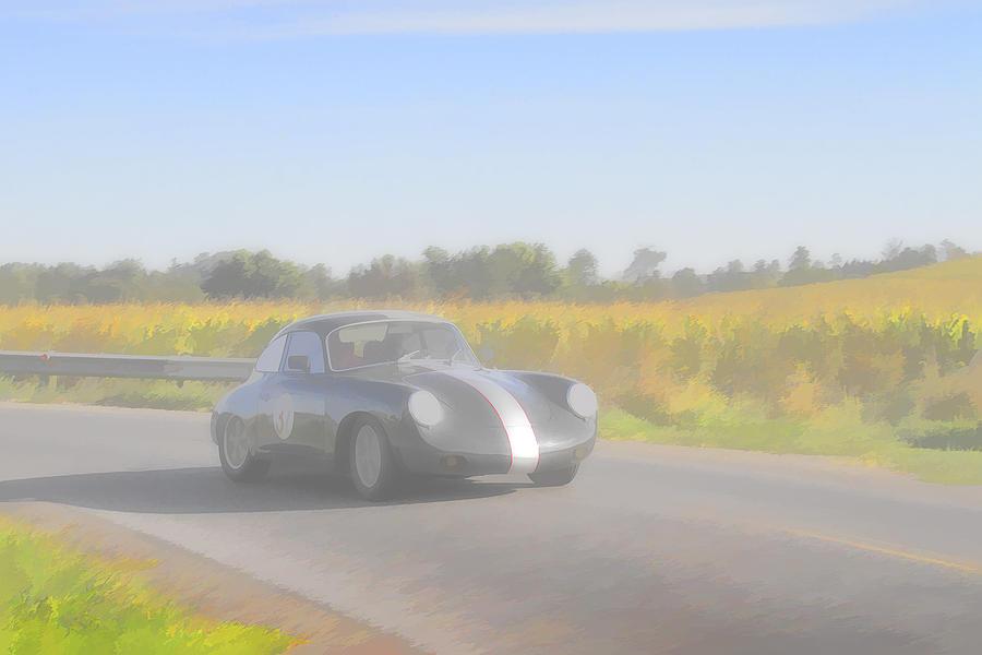 Racer Porsch 356 Photograph