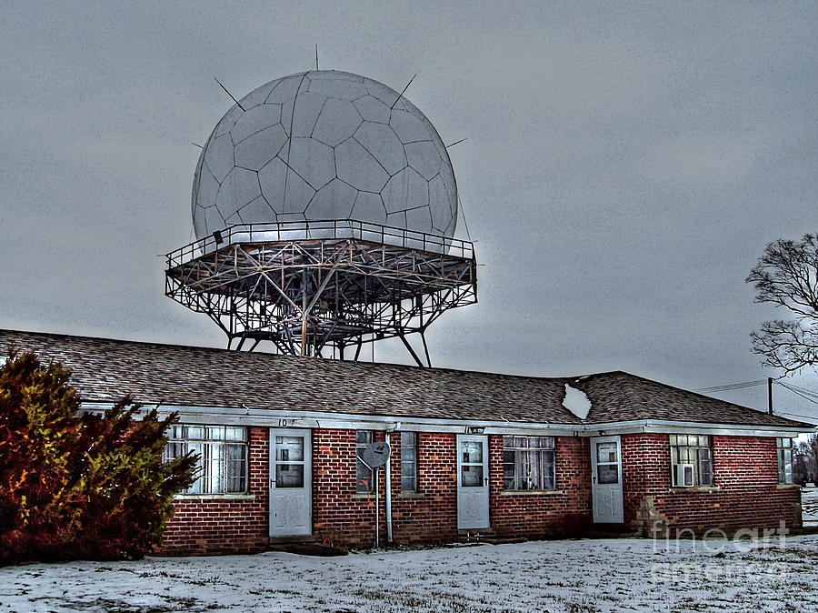 Radar Row Photograph  - Radar Row Fine Art Print