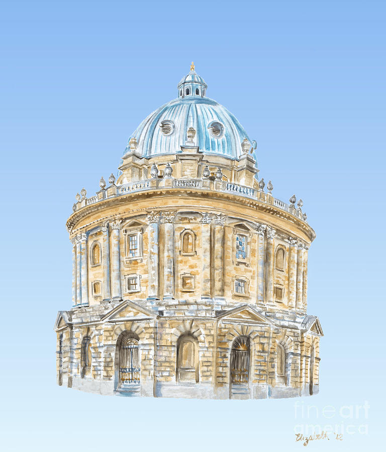Radcliffe Camera Painting  - Radcliffe Camera Fine Art Print