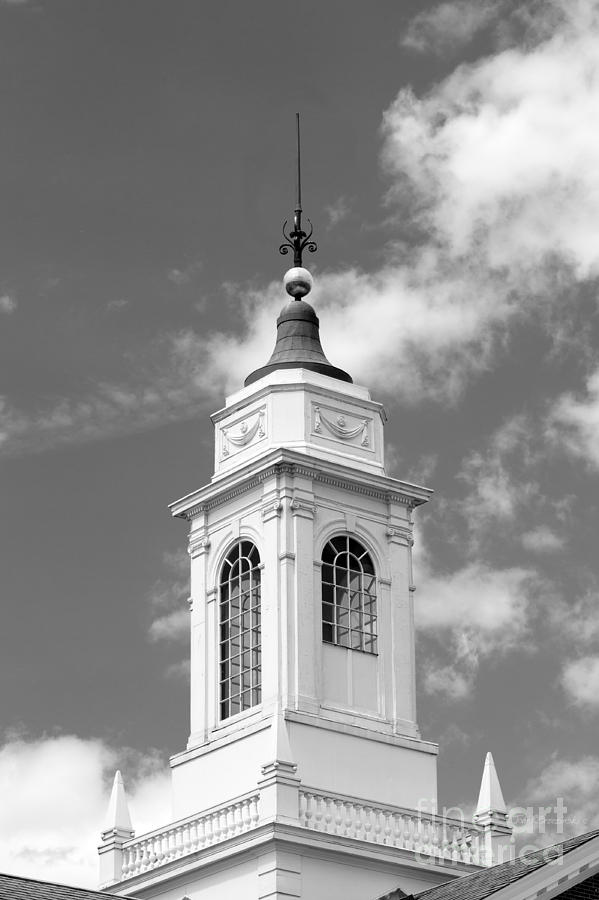 Radcliffe College Cupola Photograph