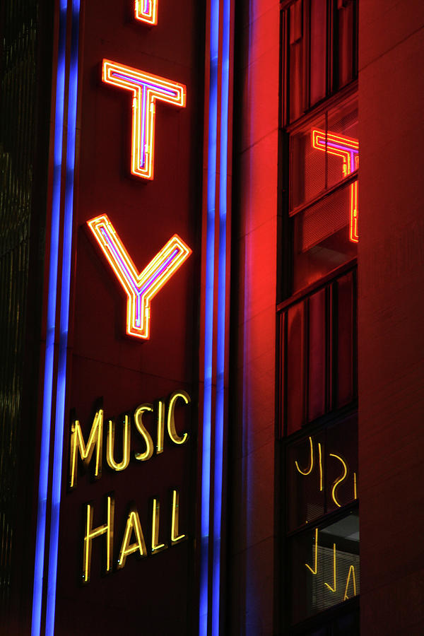 Radio City Neon Photograph