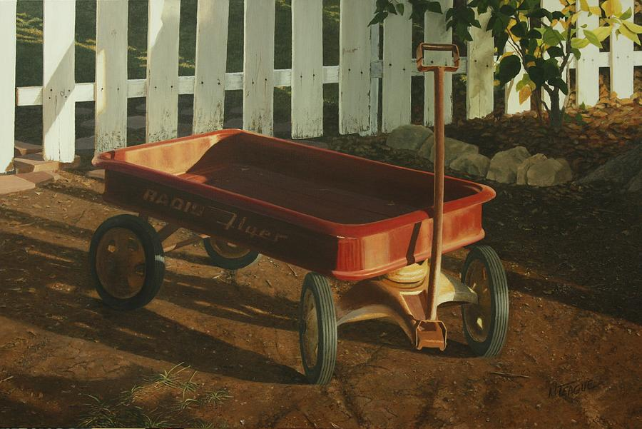 Radio Flyer Afternoon Painting