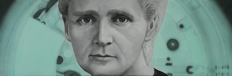 Radium- Marie Curie Painting