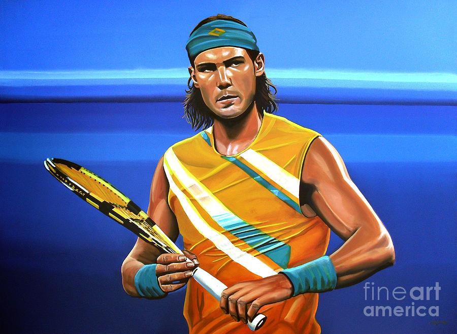 Rafael Nadal Painting