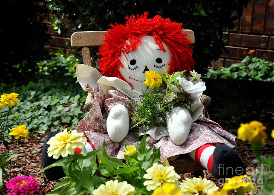 Raggedy Anns Garden Photograph