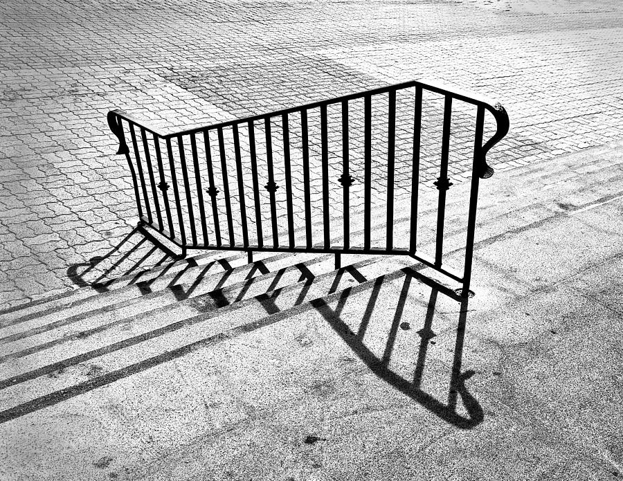 Architecture Photograph - Railing by Larry Butterworth