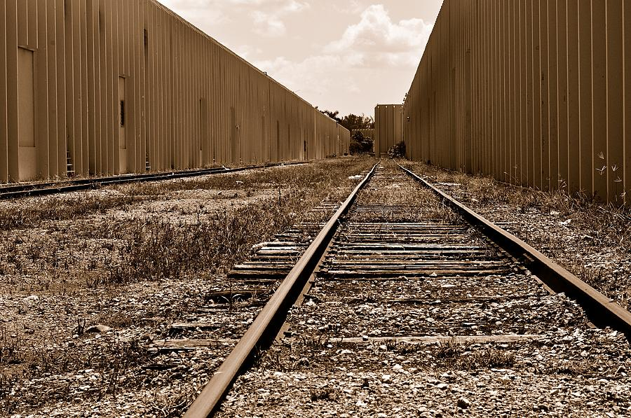 Railroad Photograph  - Railroad Fine Art Print