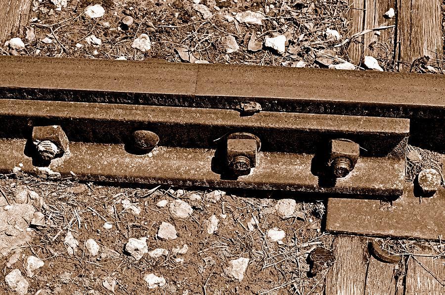 Railroad Track Photograph