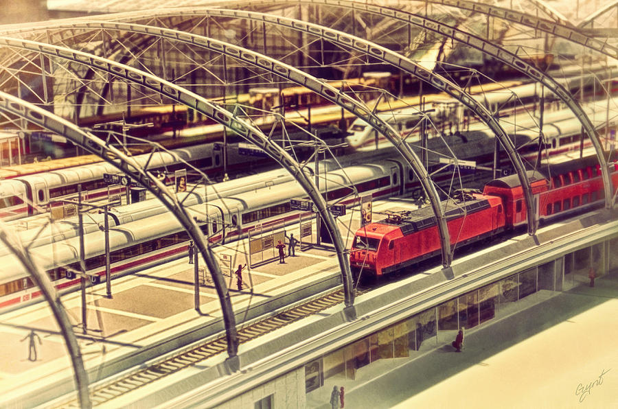 Railway Station Photograph