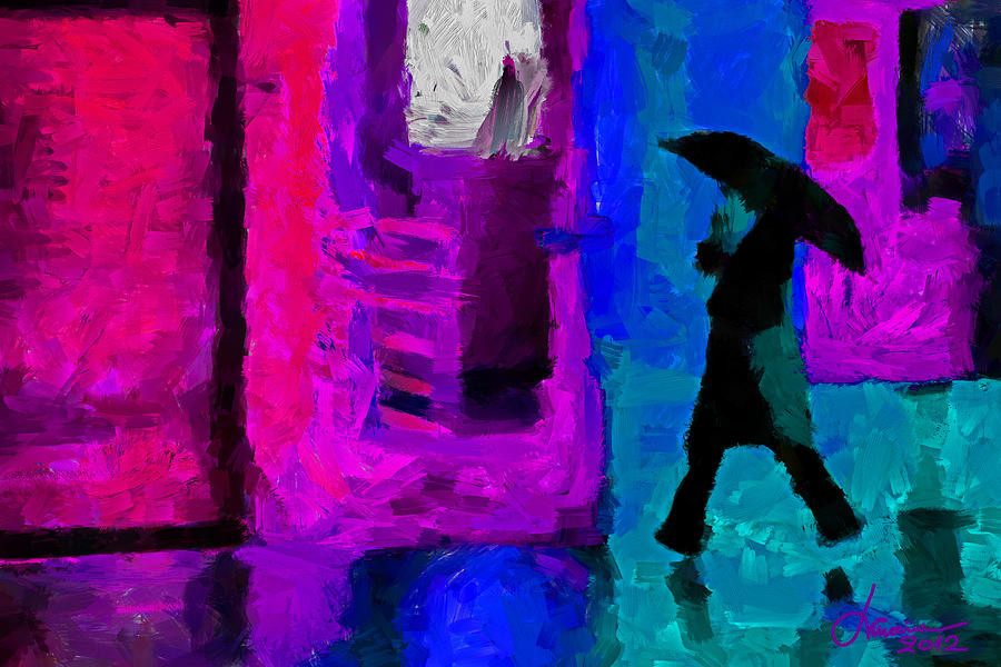 Rain In January Tnm Digital Art