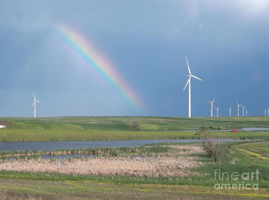 Rainbows Pyrography - Rainbow Delight by Angela Pelfrey
