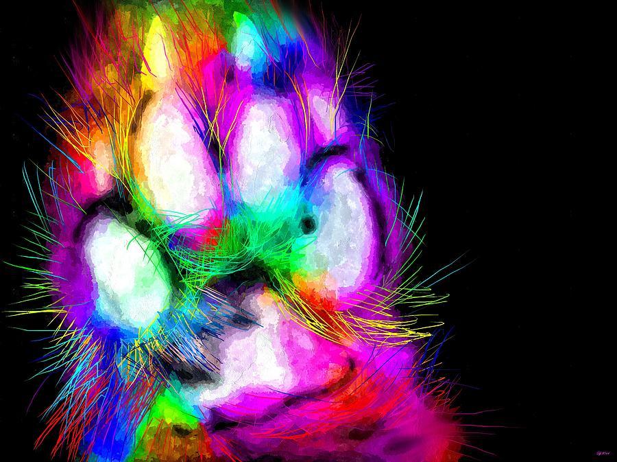 Rainbow Dog Paw by Daniel Janda: fineartamerica.com/featured/rainbow-dog-paw-daniel-janda.html