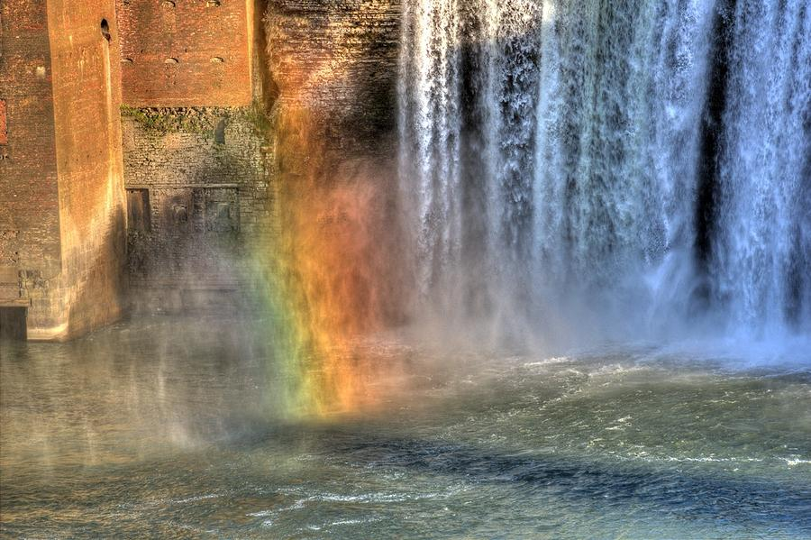 Rainbow In The Mist Photograph  - Rainbow In The Mist Fine Art Print