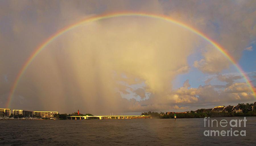 Rainbow Jupiter Inlet Photograph