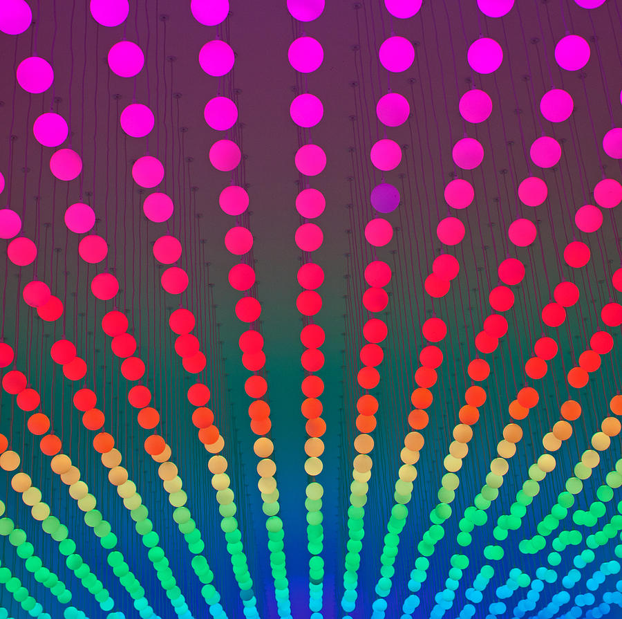 Rainbow Of Lights Photograph  - Rainbow Of Lights Fine Art Print