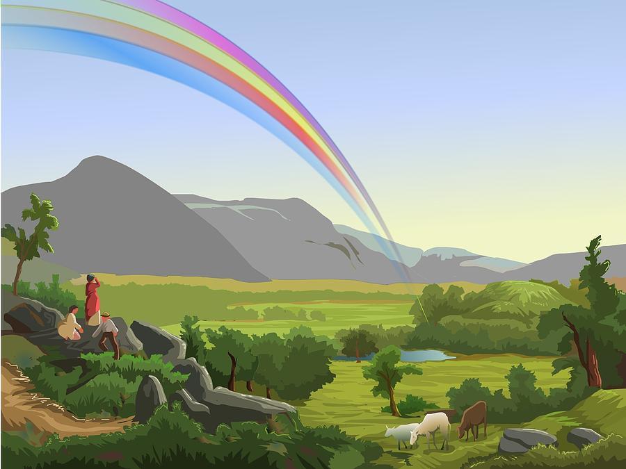 Rainbow Digital Art - Rainbow by Prakash Leuva