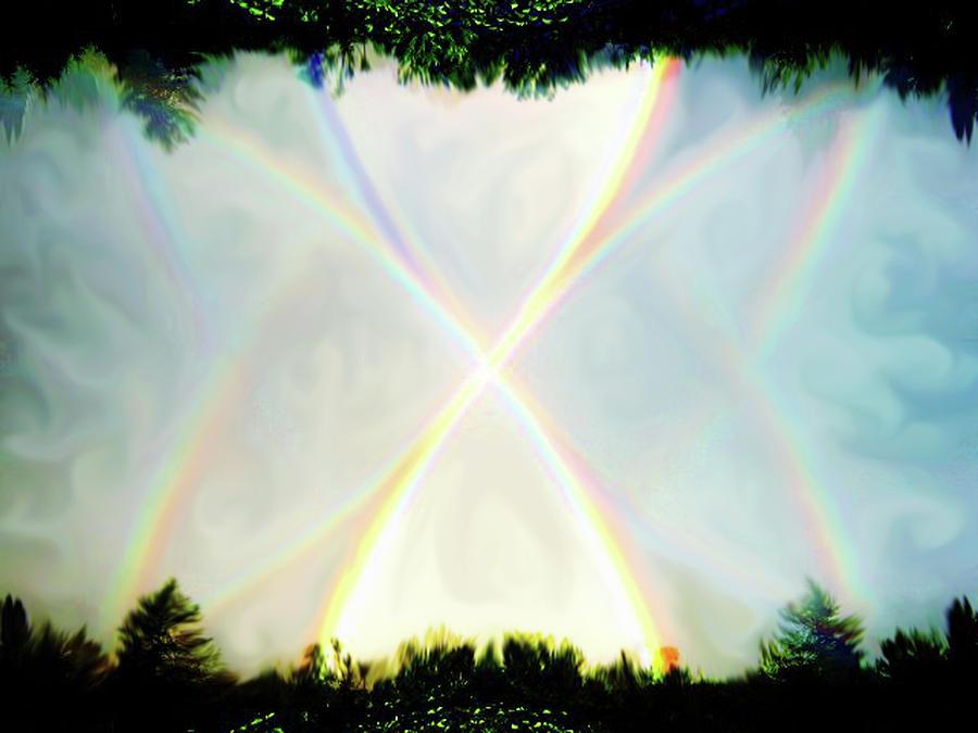 Rainbow Photograph - Rainbow X by Mary Burr
