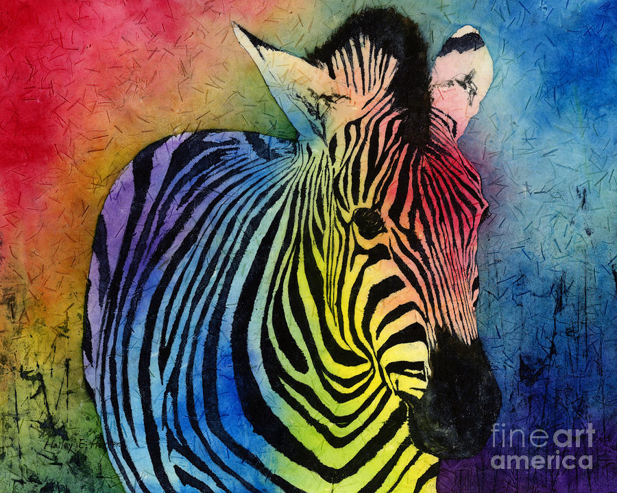 Zebras Paintings Examples of Art Influe...