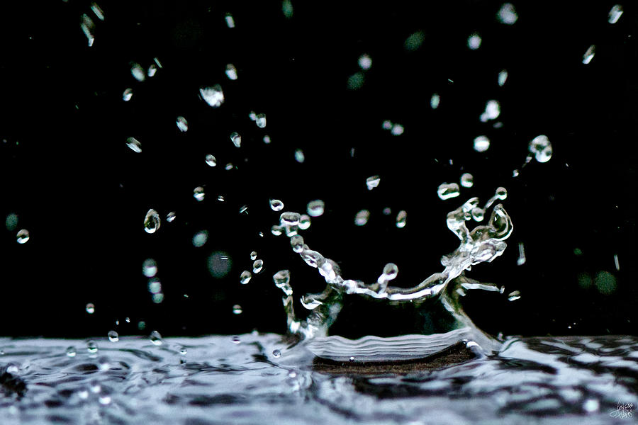 Raindrop Photograph  - Raindrop Fine Art Print