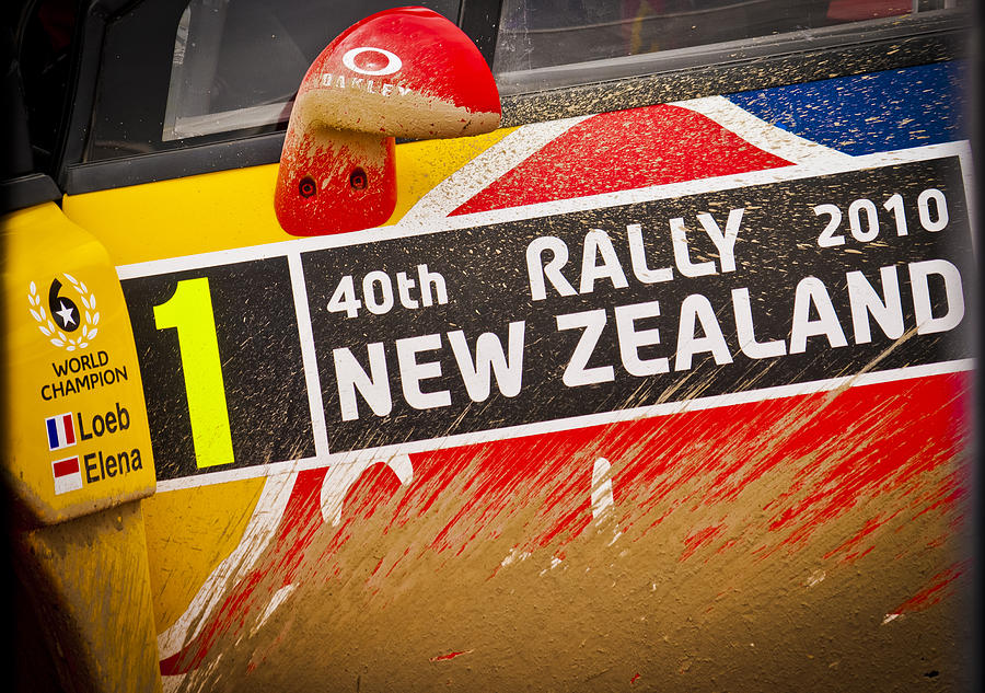 2010 Wrc Photograph - Rally New Zealand by motography aka Phil Clark