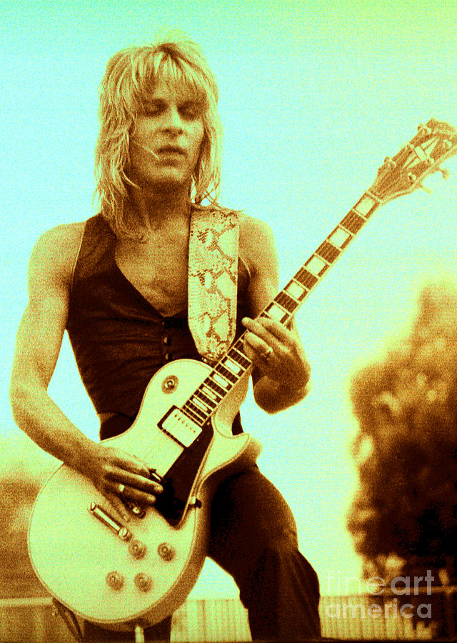 Randy Rhoads Day On The Green Unreleased One Photograph  - Randy Rhoads Day On The Green Unreleased One Fine Art Print
