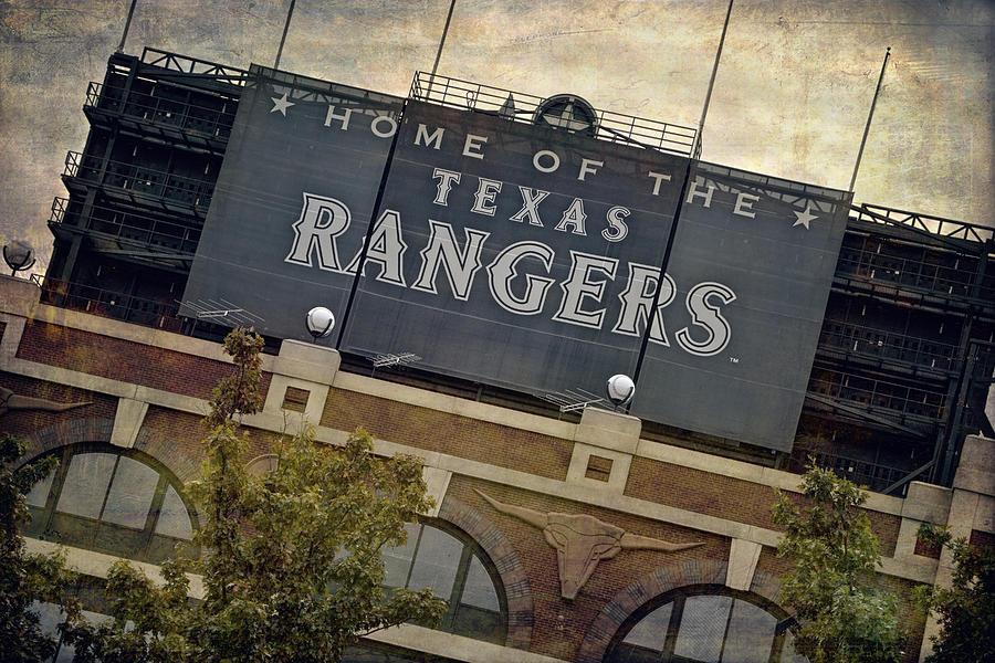 Rangers Ballpark In Arlington Color Photograph