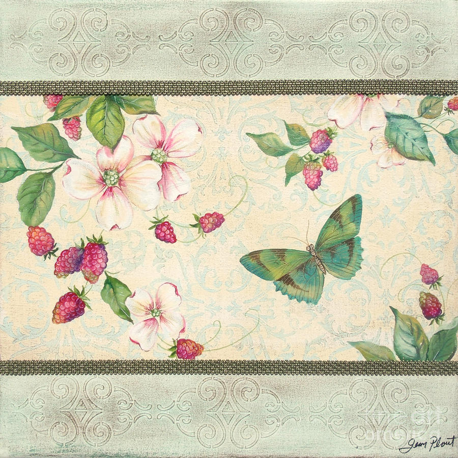 Raspberry Bliss Painting