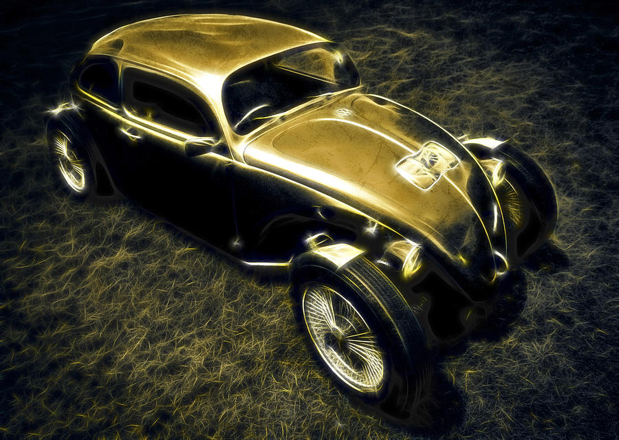 Vw Beetle Photograph - Rat Beetle by motography aka Phil Clark
