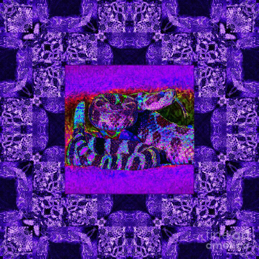 Rattlesnake Abstract Window 20130204m133 Photograph