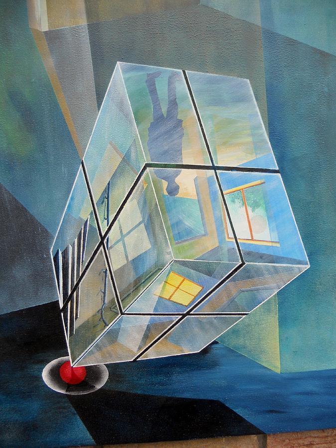 Raum Painting - Raumirritation 06 by Gertrude Scheffler