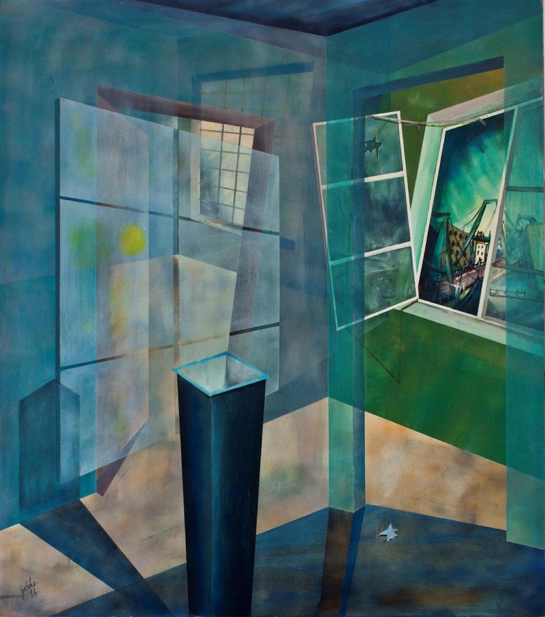 Raum Painting - Raumirritation 15 by Gertrude Scheffler