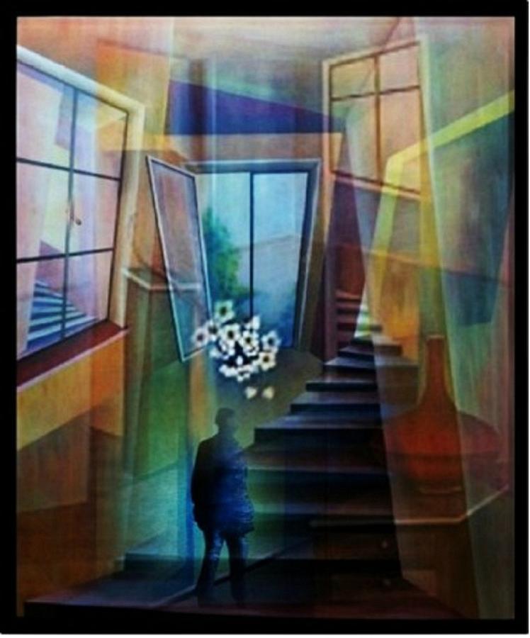 Raumirritation 20 A Painting