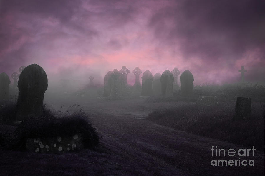 Rave In The Grave Photograph  - Rave In The Grave Fine Art Print