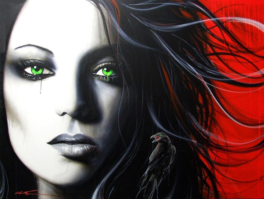 raven Vixon Painting