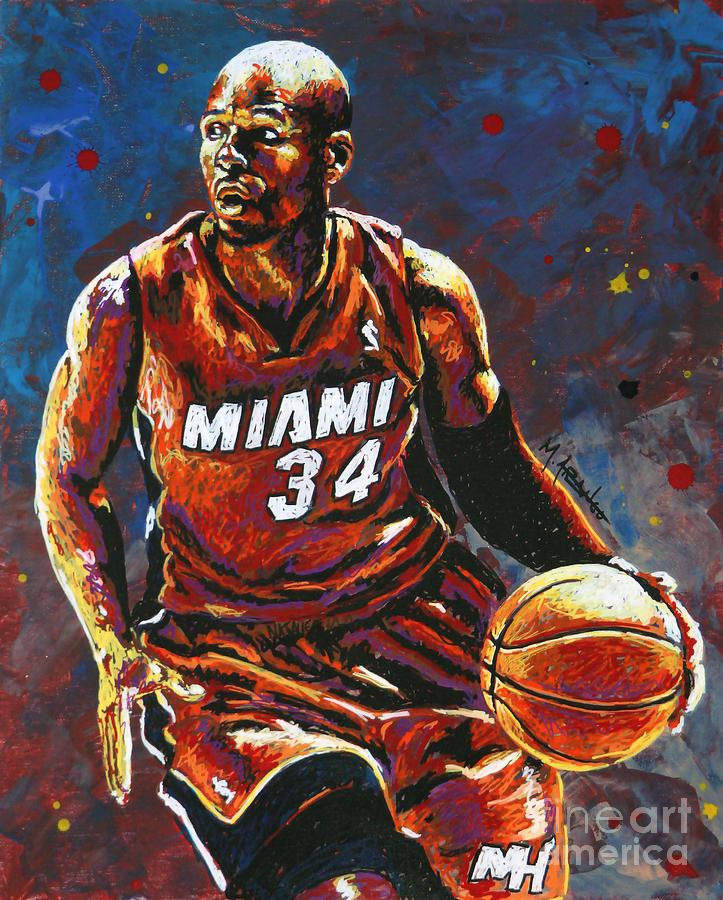 Ray Allen Painting